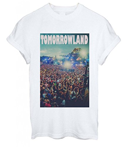 Tomorrowland Tomorrow Land Summer Holiday Slogan Cool Men Women Unisex T-Shirt Top - Xx-Large