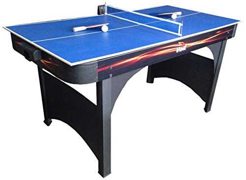 Best Deals! Voit Playmaker 60-Inch Air Hockey Table with Table Tennis Game