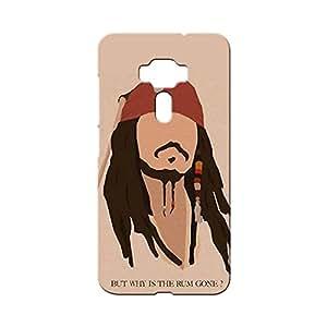 BLUEDIO Designer Printed Back case cover for Asus Zenfone 3 - G5129