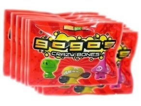 Crazy Bones Series 1 Original 10 Packs Gogos from crazy bones