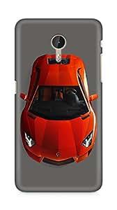 Amez designer printed 3d premium high quality back case cover for LeEco Letv Le Pro (Pretty red Lamborghini)