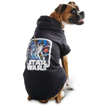 STAR WARS Halloween Vintage Dog Hoodie, 3X-Large