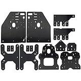 Aluminum Gantry Plates,OX CNC Plates Kit for OX CNC Engraving Machine, Nema23 Stepper Motor Plate,17 Pieces Version