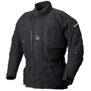 ゴールウイン(GOLDWIN) : 限定 ユーロ ウィンター・ロングジャケット GWS Euro LONG 高防寒・高防水・高透湿・高防風 肩・肘・背・胸部プロテクター標準装備 カラー/ブラック サイズ/Mサイズ GSM12150