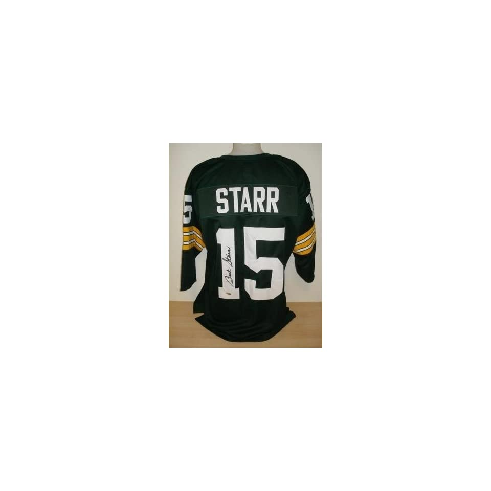be362dcd3ae Bart Starr Signed Jersey Tristar Autographed NFL Jerseys on PopScreen