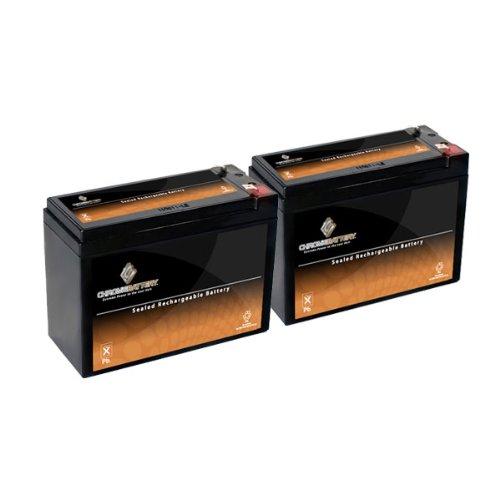 12V 10.5AH SLA Battery for Electric Scooter Schwinn S180 / Mongoose - 2PK