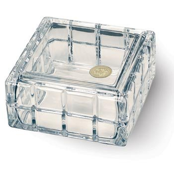 University of Iowa - Monticello Crystal Trinket Box