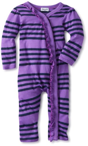 Review: Splendid Littles Baby-Girls Newborn Capri Stripe Romper, Jam, 6-12 Months  Review