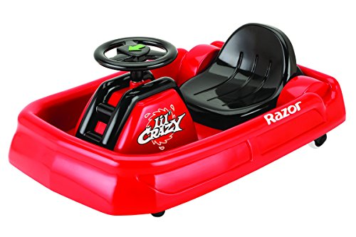 razor jr lil crazy ride on red little kid cars