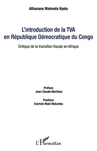 L'introduction de la TVA en République Démocratique du Congo