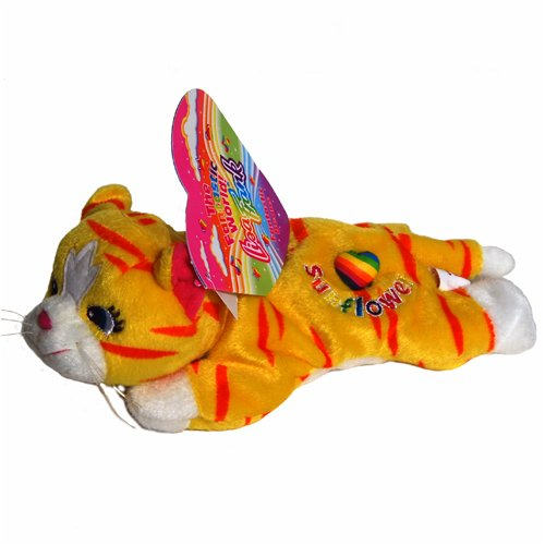 Sunflower the Striped Cat - Lisa Frank Beanie Plush