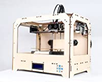 G-Star Dual Extruder 3D Printer w/ 1KG (2.2 lb) Filament in ABS or PLA (Will Vary) - Wood Frame from G-Star 3D Printer