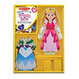 Melissa and Doug Deluxe 24-Piece Princess Elise Magnetic Dress-Up Set