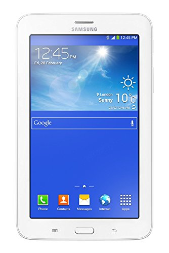Samsung Galaxy Tab3 Lite - Tablet de 7 (3G + WiFi, 8 GB, Dual Core 1.2 GHz, 1 GB RAM), blanco