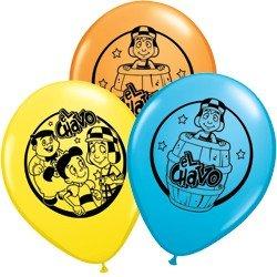 "11"" El Chavo Printed Latex Balloons"