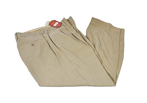 tommy-bahama-36-x-30-peach-ambar-seda-doble-plisado-para-hombre-vestido-pantalones