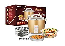 Panasonic New Panasonic Rice Cooker Combo Gift Pack Srwa 18 Gh Cmb