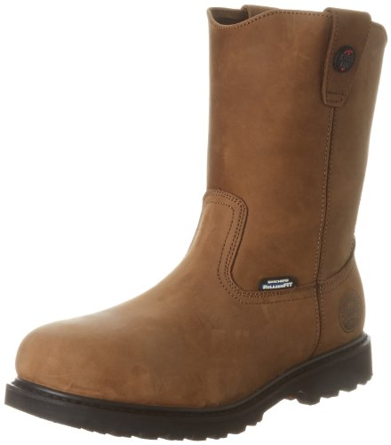 Skechers for Work Men's Ruffneck Slip Resistant Work Boot