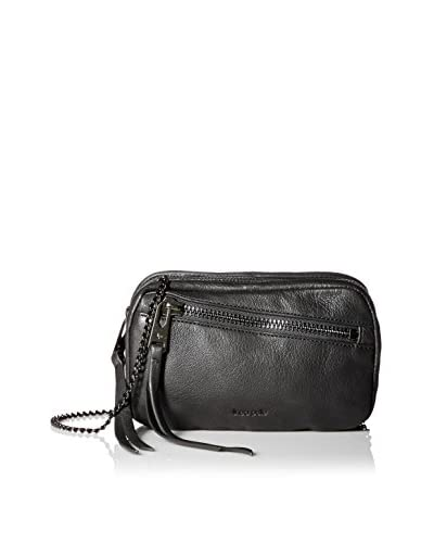 linea pelle Women's Wyatt Triple Zip Cross-Body, Black