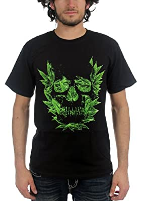 Price Busters - Pot Leaf Skull Adult T-Shirt