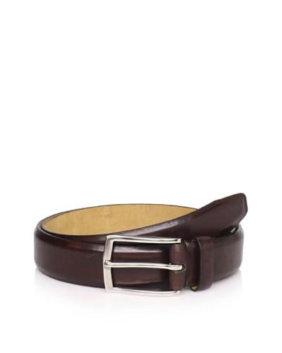 Joseph Abboud Men's Shiny Belt  [Brown]