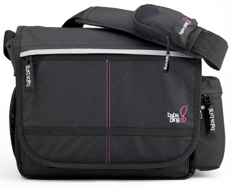 Bababing Paternity Daytripper Satchel Bag - City Black