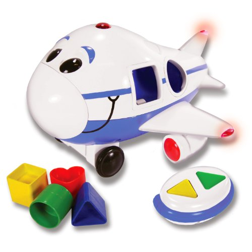Cheap Jumbo the Jet Shape Sorter Remote Control Airplane (Blue)