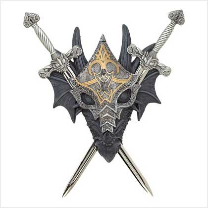 Armored Dragon Wall Crest - Style 39269