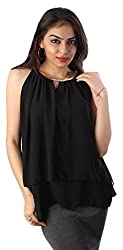 Tenn Women's Top (BKCT11NSXS_Black_X-Large)