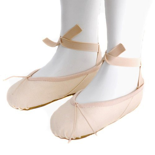 Grishko Toddler Girls Size 10.5 Pink Canvas Dance Ballet Slipper Shoe