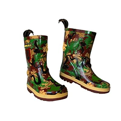 Kidorable Camouflage Wellie Boots Size 5