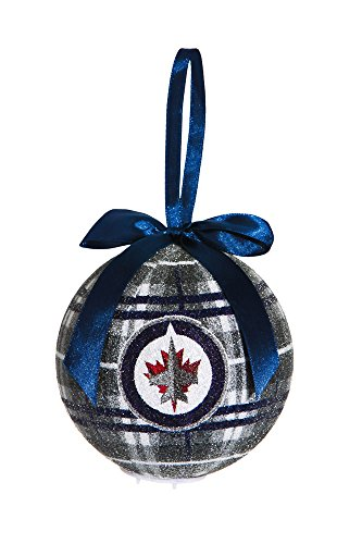 100Mm Led Ball Ornament, Winnipeg Jets