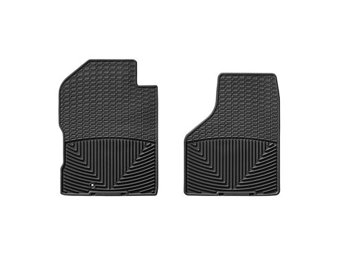 WeatherTech Rubber Floor Mat for Select Dodge/Ram Models - Set of 2 (Black) (2010 Dodge Ram Weathertech compare prices)