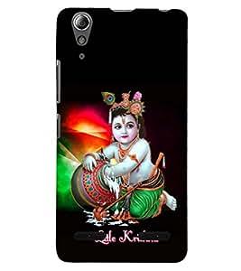 PRINTSHOPPII LORD KRISHNA Back Case Cover for Lenovo K3 Note