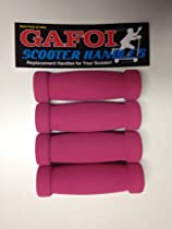 New Replacement Scooter Handle Grips for Razor Scooters - (Multi-Pack) (2 Pink)