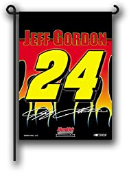NASCAR Jeff Gordon #24 2-Sided Garden Flag 13-by-17-Inch