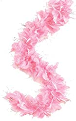 PARTY PROPZ PINK FEATHER BOA/ PARTY ACCESSORIES/ PHOTOBOOTH ACCESSORIES