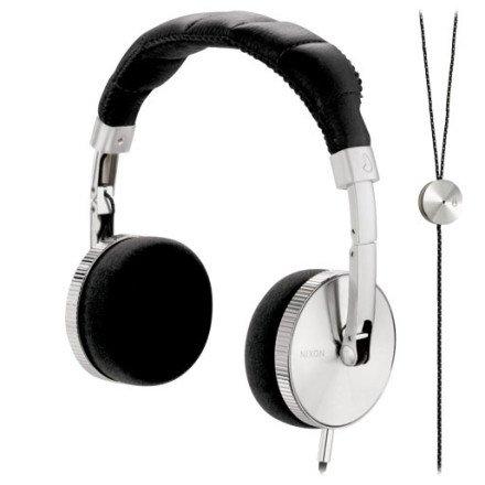 Nixon Nomadic Mic Headphones Black, One Size