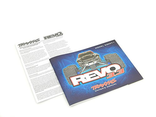 Traxxas Revo 33 53097-1 Owners Manual Exploded View Parts List