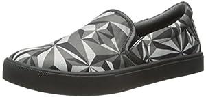 United Nude Women's Slip On Fashion Sneaker, Crystal Mono, 36 EU/6 M US