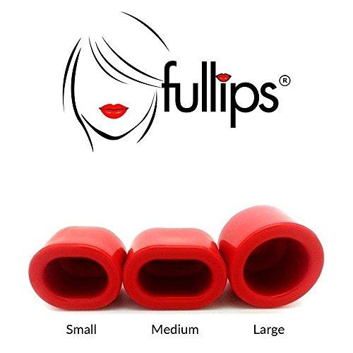 Fullips-Pompa a labbro/suzione, repulpeur, labbra pulpeuses-Set di 3dimensioni Small Medium Large