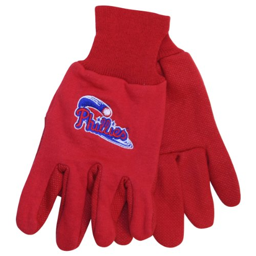MLB Teams Logo Grip Gloves - Philadelphia Phillies at Amazon.com