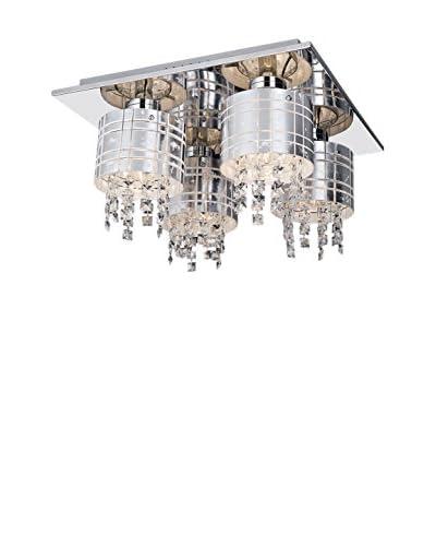 Light&Design Lámpara De Techo Maya Gris