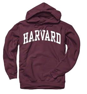 Harvard Crimson Maroon Arch Hooded Sweatshirt