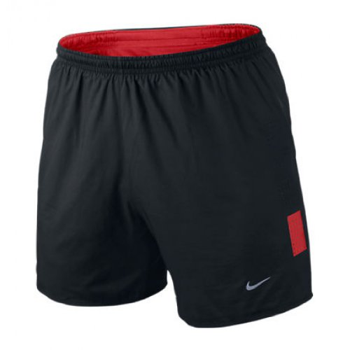 Nike NIKE Men's 5in Race Day Shorts, Black/Red, L