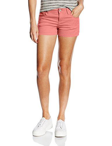 ONLY - onlNYNNE COLORED SHORTS, Shorts Donna, Rosa (Faded Rose), M (Taglia Produttore: 40)