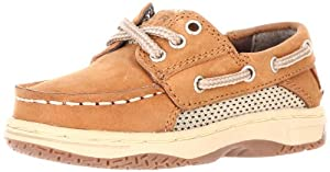 Sperry Top-Sider Billfish Boat Shoe (Toddler/Little Kid),Dark Tan, 7.5 M US Toddler
