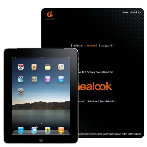 Apple iPad Premium Screen Protector - Crystal Clear by REALOOK
