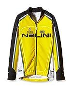 Nalini Maillot Ciclismo Pirrotina (Amarillo)
