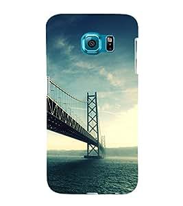 Fuson Premium Back Case Cover London Bridge With Multi Background Degined For Samsung Galaxy S6 Edge+ G928::Samsung Galaxy S6 Edge Plus G928F